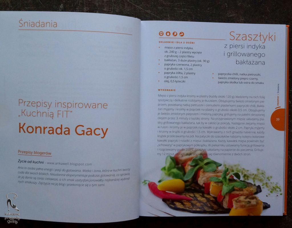 Kuchnia Fit 2 Wspolne Gotowanie Konrada Gacy Kulinarne Przygody Gatity Przepisy Pelne Smaku