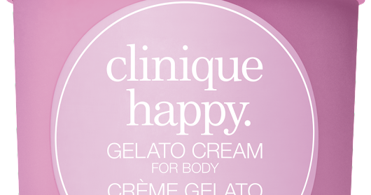 Clinique apresenta Happy Gelato Hidratante corporal