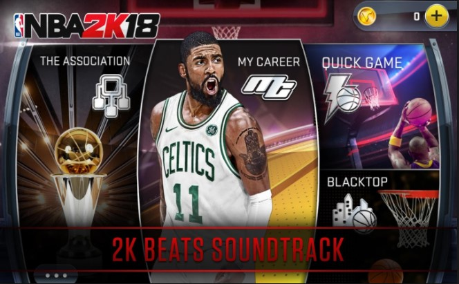 NBA 2K18 Apk Mod Data