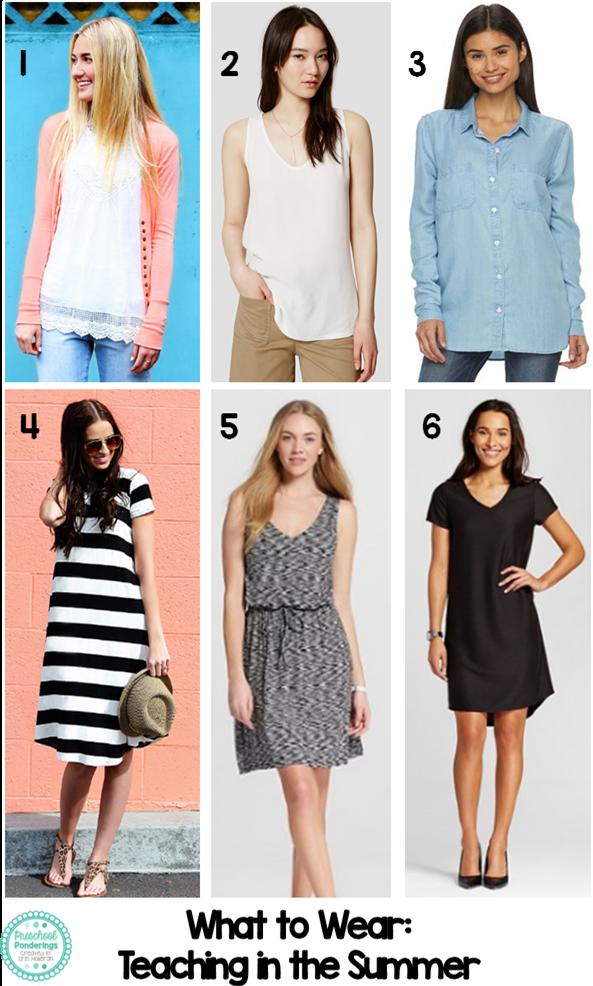 what do preschool teachers wear preschool ponderings what to wear summer styles for 941