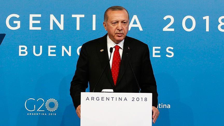 تارودانت24 / أردوغان: لن يطمئن العالم لحين الكشف عن قتلة خاشقجي