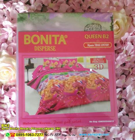 Sprei Bonita Beauty Princess Ukuran 160