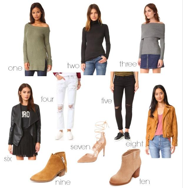 shopbop sale under $100
