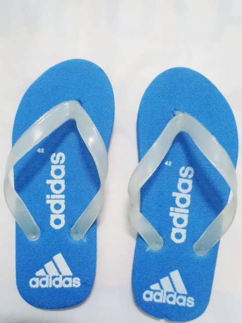 sandal jepit MURAH ADIDAS BIRU