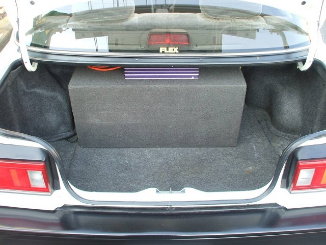 Honda Civic 4th Generation EF Sedan trunk space