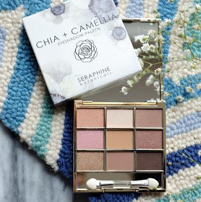 Seraphine Botanicals Chia + Camellia Eyeshadow Palette