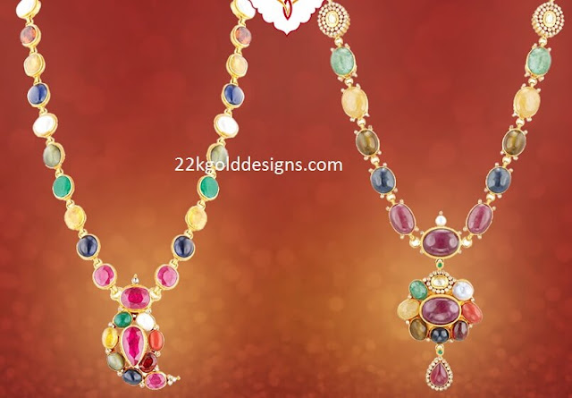 Navaratna Necklace Designs