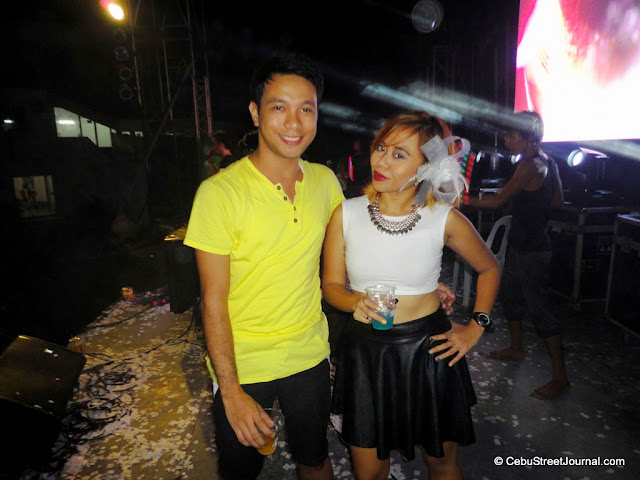 With Miss Eden Villarba - Sabolboro of: http://www.chicinthetropics.com/