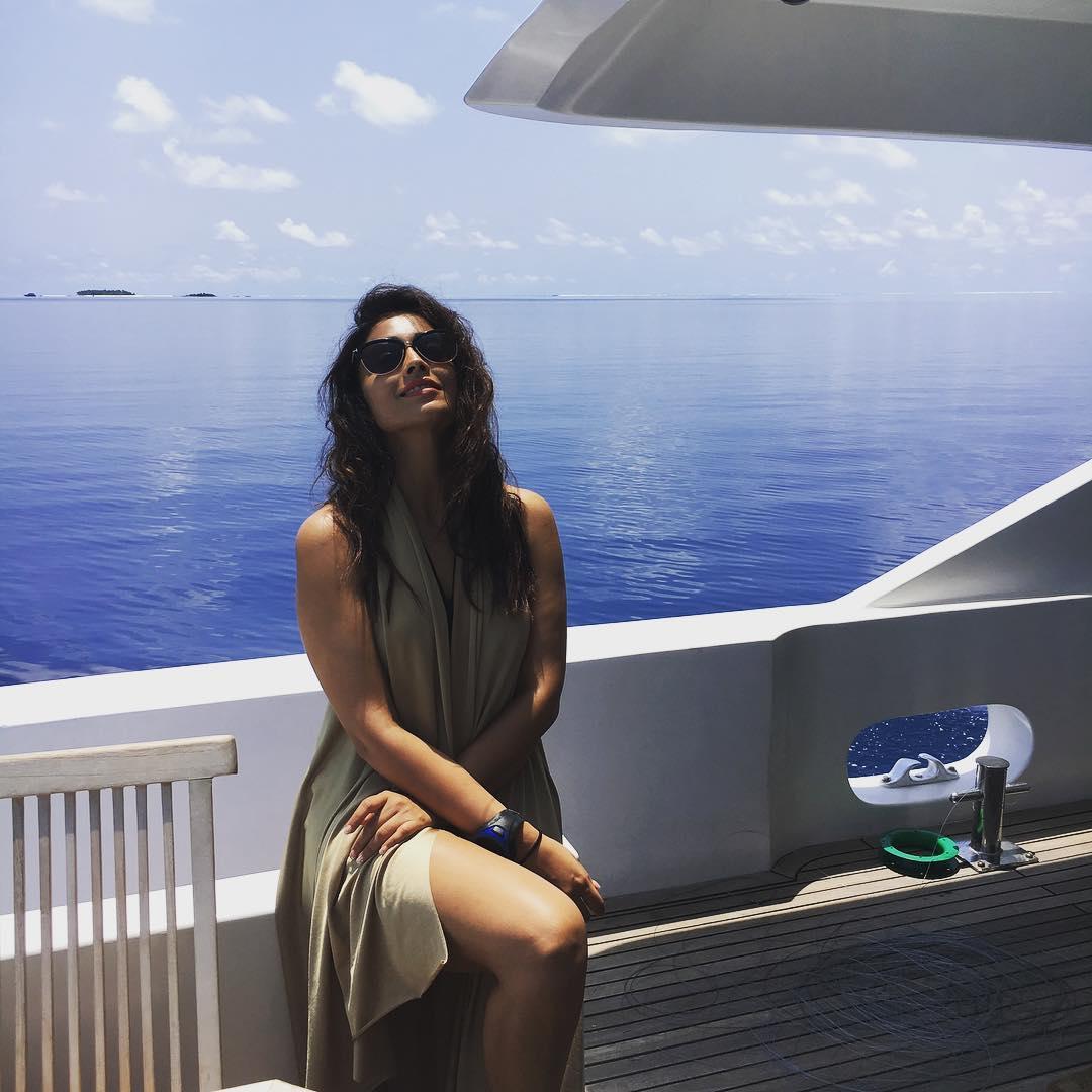 Shriya Saran in Maldives