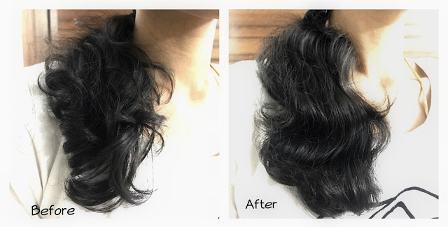 Pantene Oil Replacement Review before and after