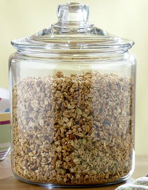 Beautiful Abodes I Stand Behind Large Jars For Storage