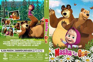Masha y el Oso 2018 - Cover DVD