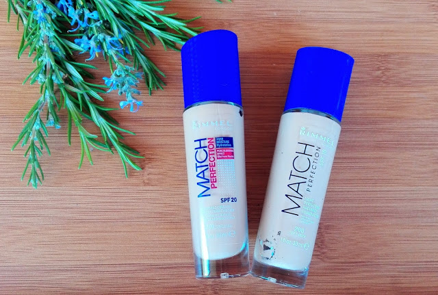 Foundation Rimmel London - Match Perfection