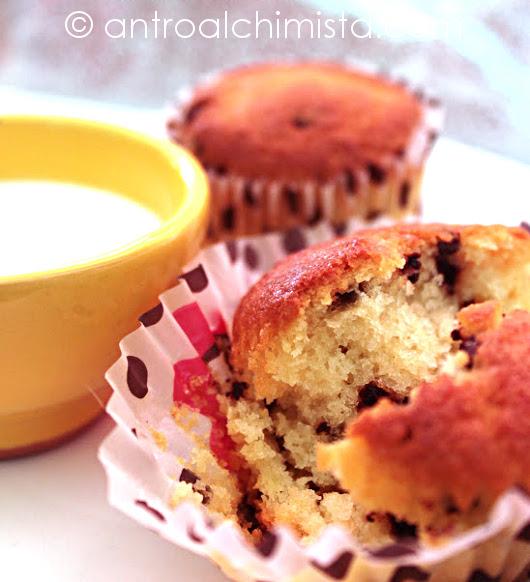 Muffins alle Mandorle con Buttermilch