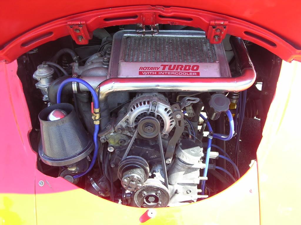 Mazda 13b Rotary Engine Using Turbo Injection
