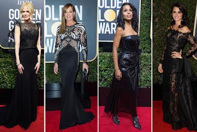 75th Annual Golden Globes, Nicole Kidman, Allison Janney, Kerry Washington, Penelope Cruz