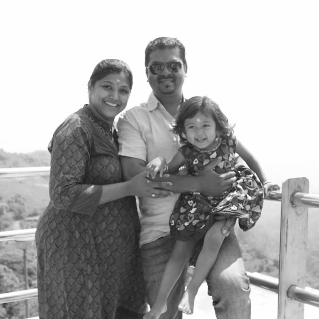 Shalini happy family
