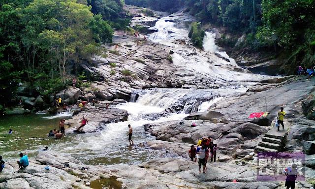 Image result for air terjun chamang
