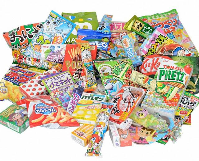 Conjunto de chuches japonesas de Japanfunbox