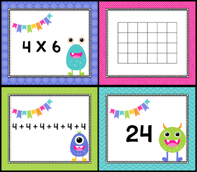 Free Multiplication Match Game