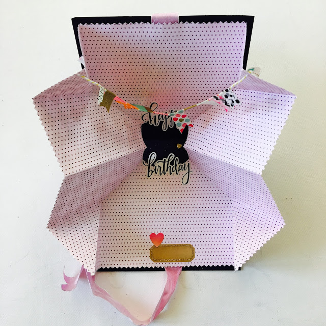 Exploding Card by Angela Tombari for The Robin's Nest DT