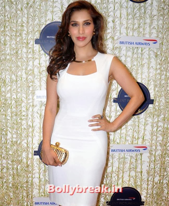 Sophie Choudhary, Malaika, Chitrangada at British Airways 'Silent Picturehouse' in Mumbai