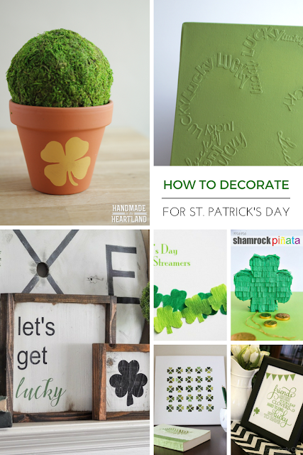 Over 15 diy decorating ideas for St.Patrick's day!