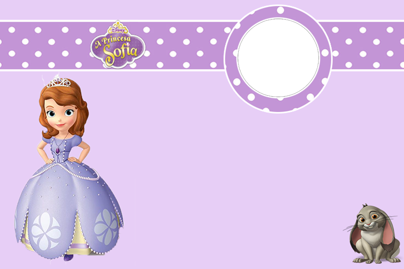 Convite princesa sofia png bunker da foto - Foto princesa sofia ...