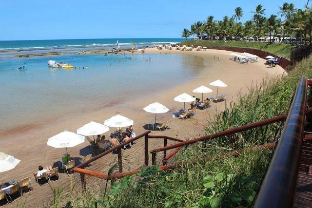 Praia de Muro Alto em Pernambuco