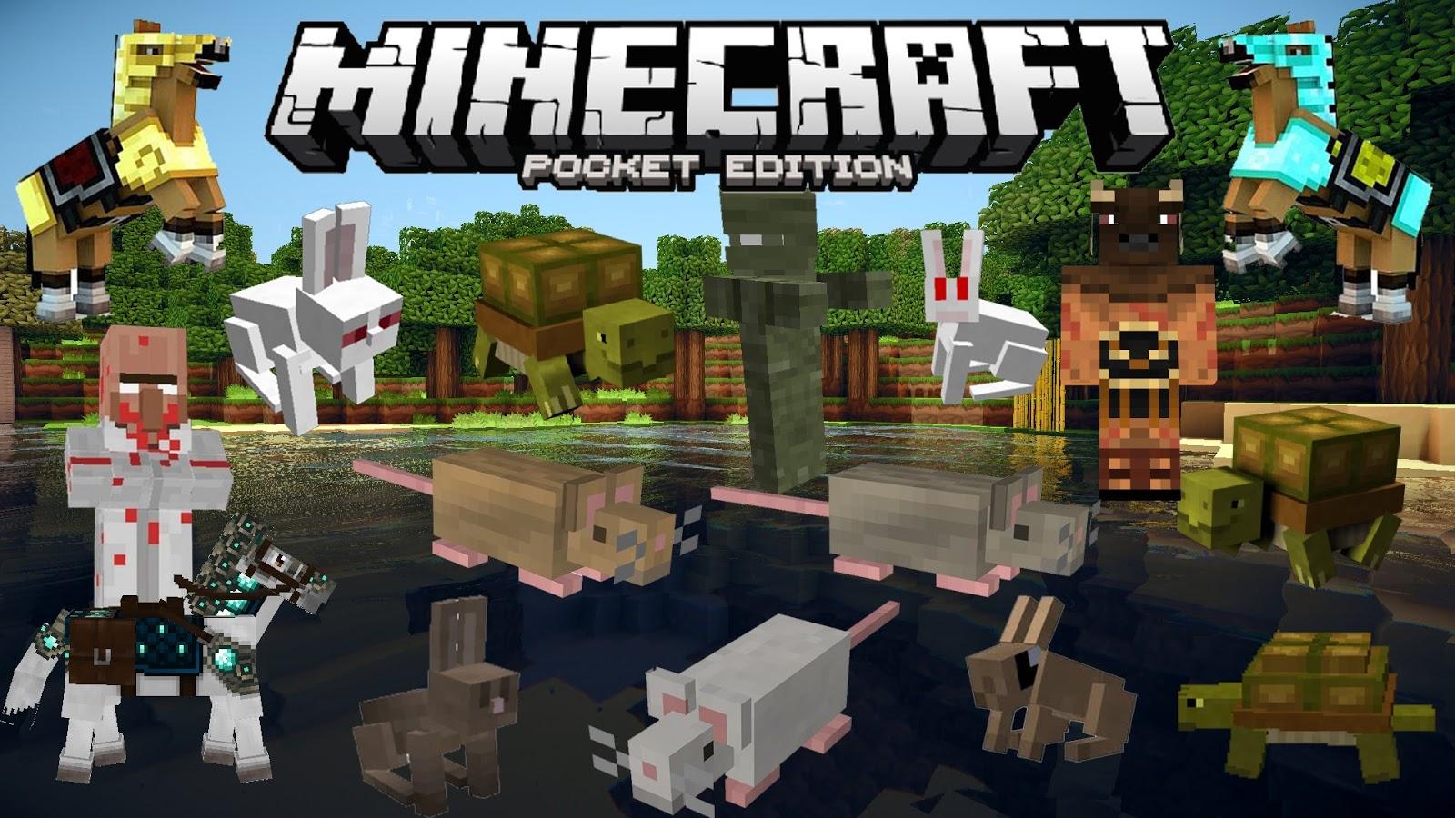 Descargar Minecraft Pocket Edition Gratis Y Full 2018 2019