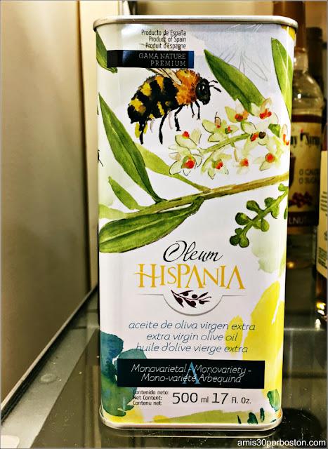 Aceites de Oliva Extra Virgen Español en Massachusetts
