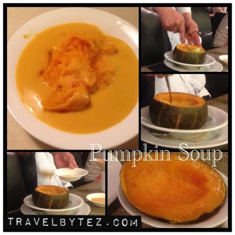 Hotel Ola pumpkin soup