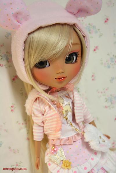 Nerea Pozo Art Custom Pullip Doll Venice Cookie By