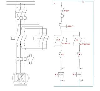 penjelasan simbol / gambar komponen listrik yang digunakan untuk menggambar rangkaian kontrol