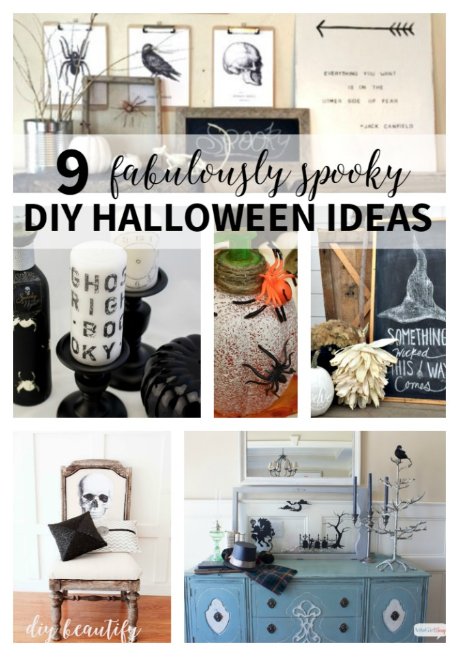 9 Fabulously Spooky DIY Halloween Ideas | DIY beautify