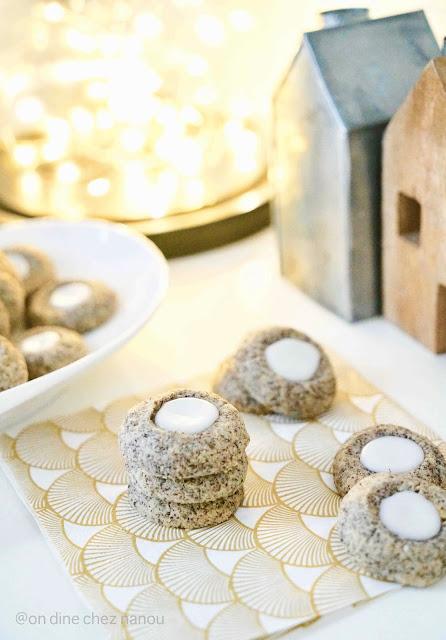 bredele , gâteau cookies de noel , très bon , pavot , citron