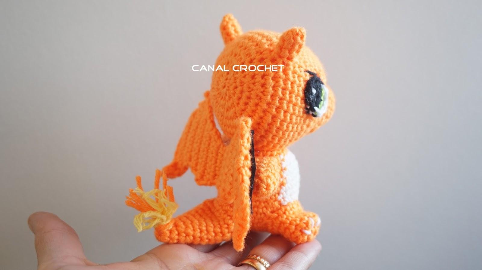 Amigurumi Pokemon Espanol : CANAL CROCHET: Charmander pokemon amigurumi