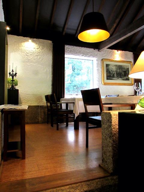 Interior do restaurante Pena em Amarante