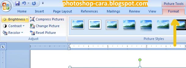 Cara Membuat Foto Hitam Putih di Word