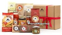 Logo ''Tutto il buono del Bio'' e con IoDonna e Alce Nero vinci gratis cofanetti di prodotti e 1 soggiorno