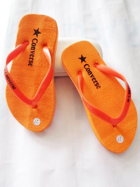Sandal Spon Anak Polos AMX Warna