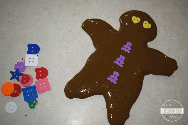 gingerbread activity for kids