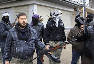 "Syrian ""rebel fighters"""