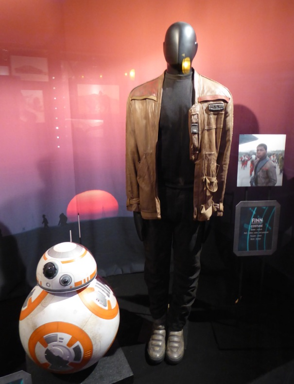 John Boyega Finn costume Star Wars Force Awakens
