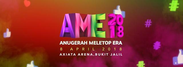 Live Streaming Anugerah Meletop ERA 2018 !