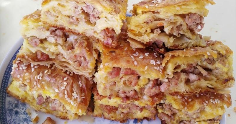 Bakina kuhinja - gurmanska pita sa mesom ( Tasty meat pie ...