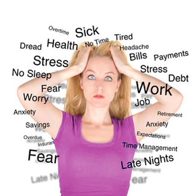 anxiety, stress
