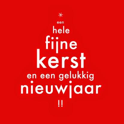 Hedendaags 2e Leerjaar Kappaert / 2014-2015: Kerst- en nieuwjaarswensen QU-82