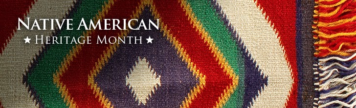 Native American Heritage Month, picture of rug