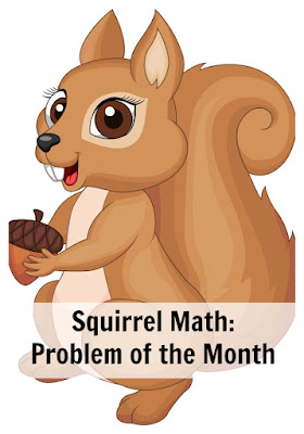 Problem of the month challenges for mathematically advanced students